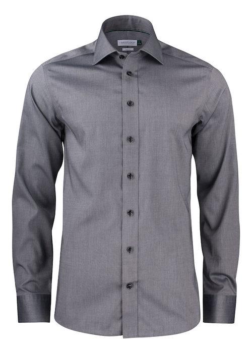 J. Harvest & Frost Green Bow 01 Regular Fit Overhemd Grijs