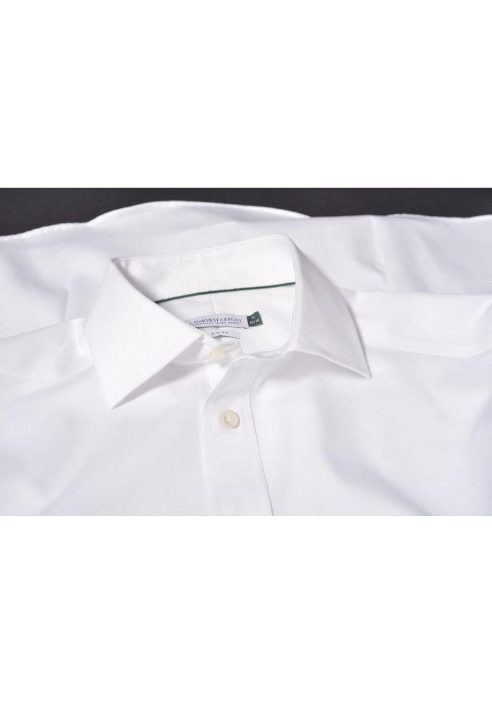 Green Bow 01 Regular Fit Overhemd Wit
