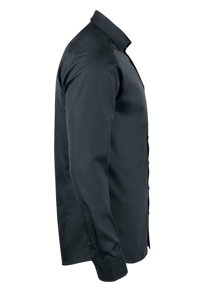 Black Bow 60 Regular Fit Overhemd Zwart