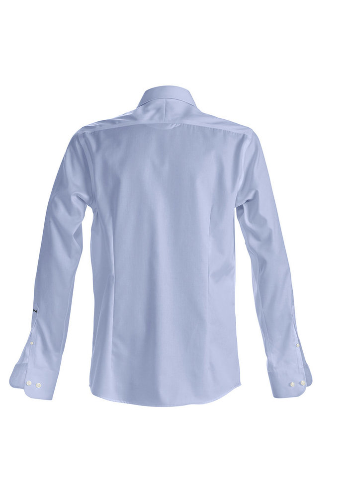 Black Bow 60 Slim Fit Overhemd Skyblue