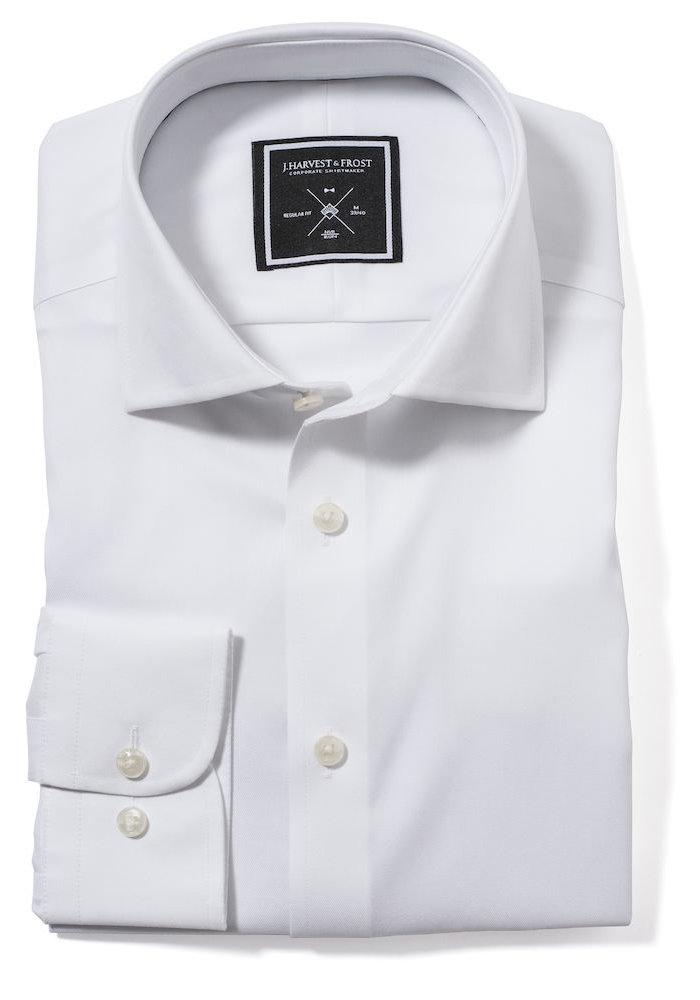 Black Bow 60 Slim Fit Overhemd Wit