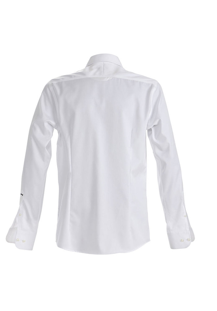 Black Bow 60 Regular Fit Overhemd Wit