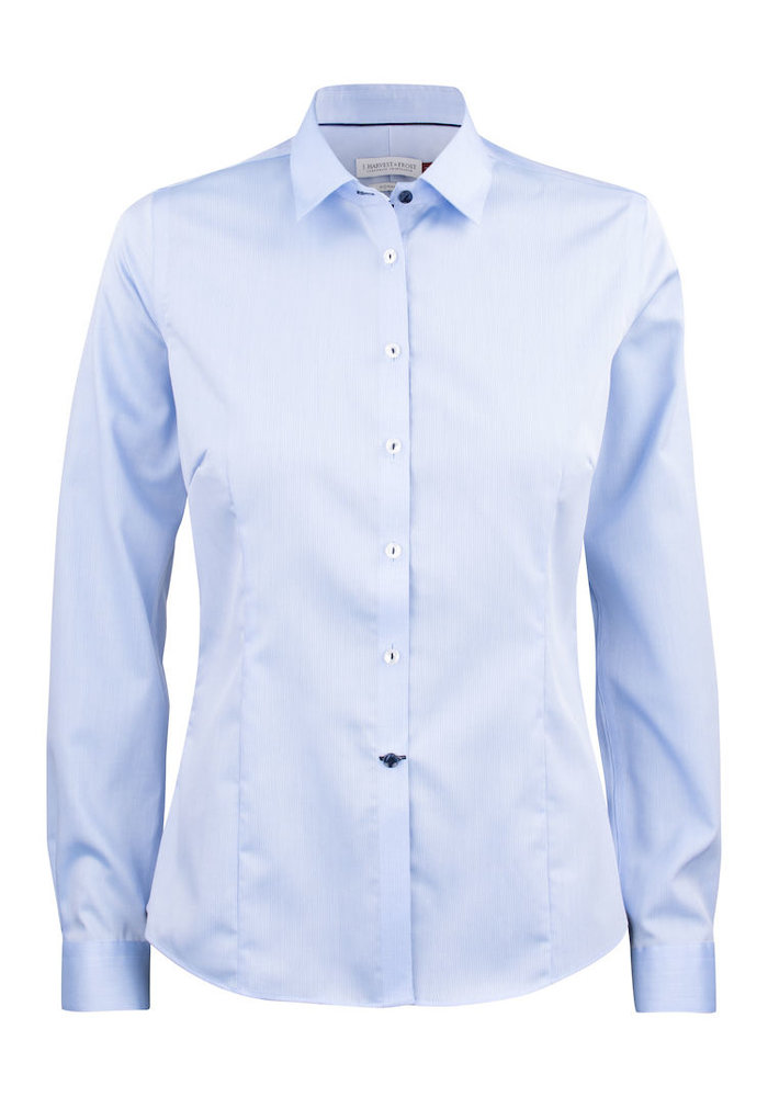 Red Bow 29 Dames Blouse Skyblue