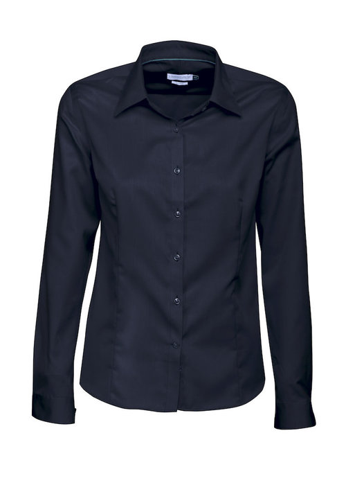 J. Harvest & Frost Green Bow 01 Dames Blouse Navy