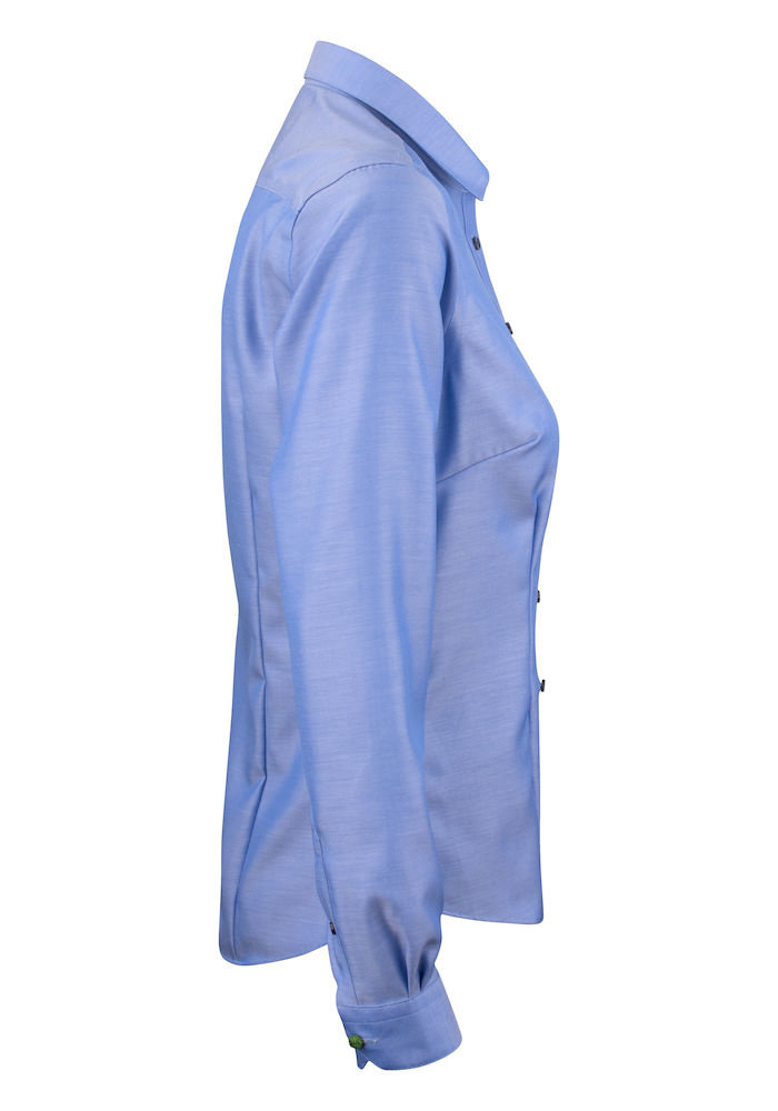 Green Bow 01 Dames Blouse Blauw