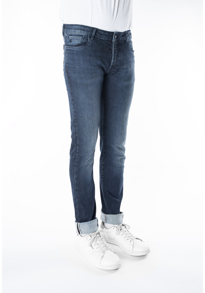 Atelier Noterman Donkerblauwe Jeans
