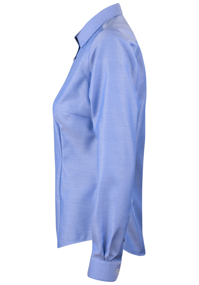 Red Bow 122 Dames Blouse Mid Blue