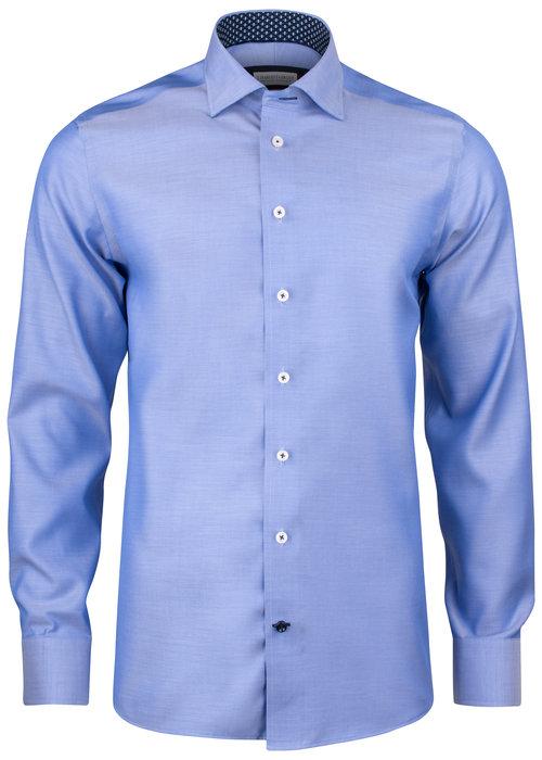 J. Harvest & Frost Red Bow 122 Regular Fit Overhemd Blauw