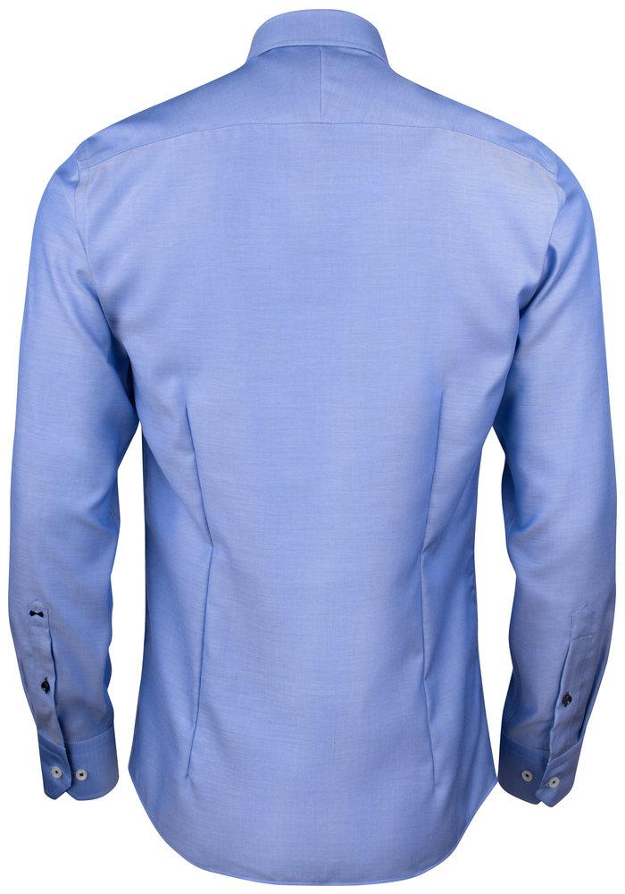 Red Bow 122 Regular Fit Overhemd Blauw