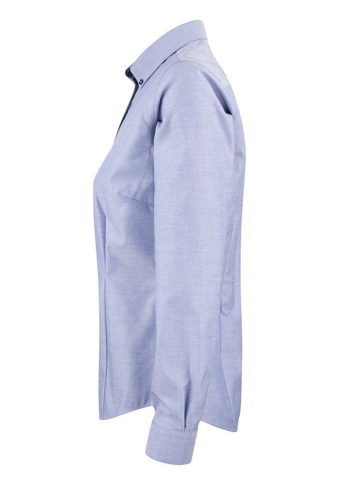 Red Bow 121 Dames Blouse Blauw