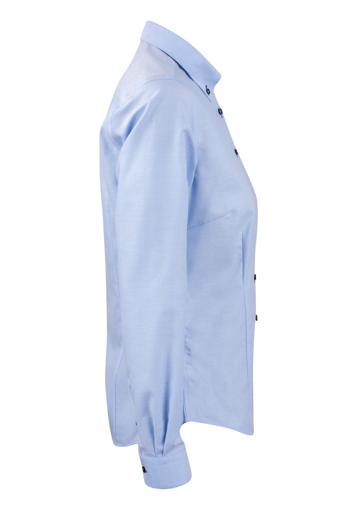 Red Bow 121 Dames Blouse Sky Blue