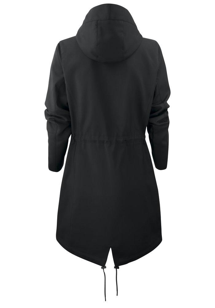 Dames City Coat Zwart