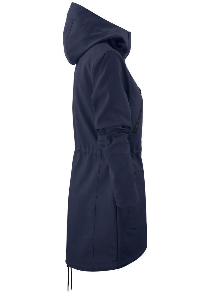 Dames City Coat Marine