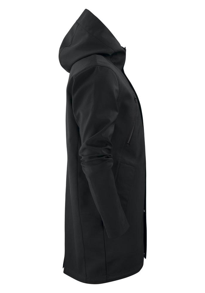 Heren City Coat Zwart