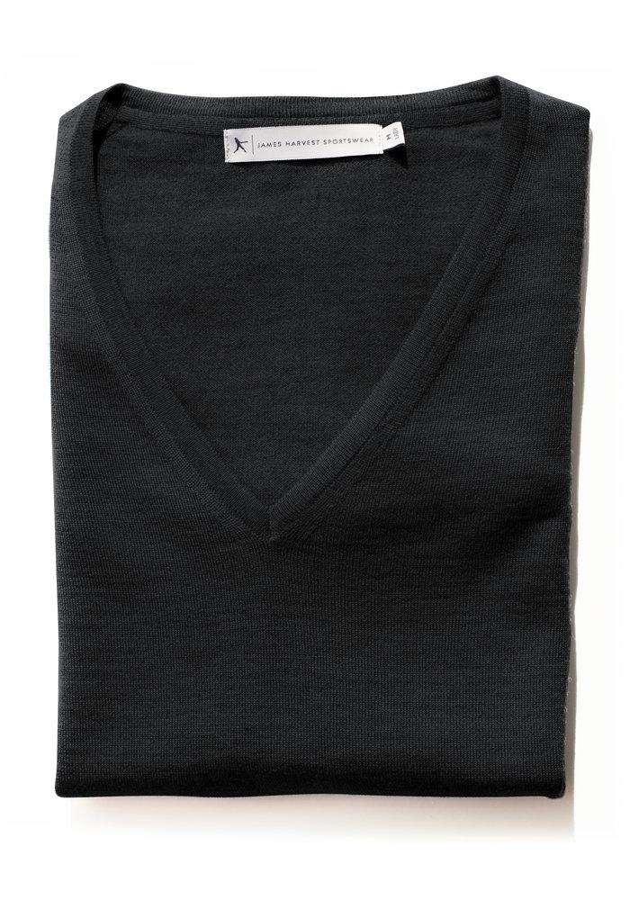 Merinowol Dames Pullover Zwart Westmore