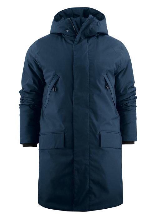 James Harvest Harvest Brinkley Jacket Blauw