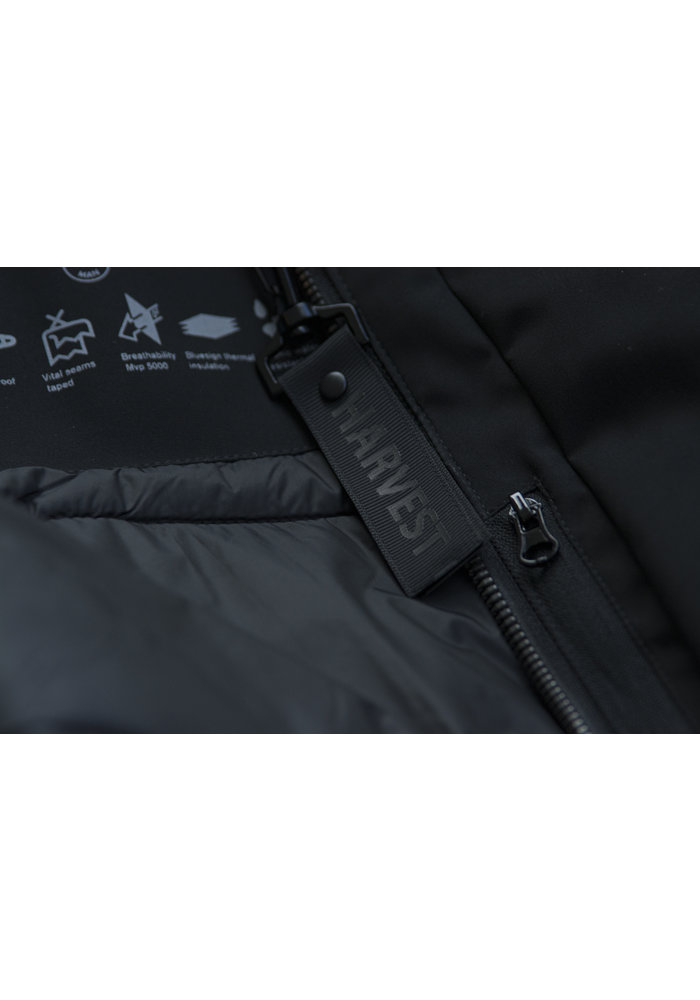 Harvest Brinkley Jacket Zwart