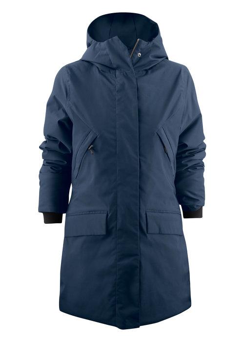 James Harvest Harvest Brinkley Jacket Dames Blauw