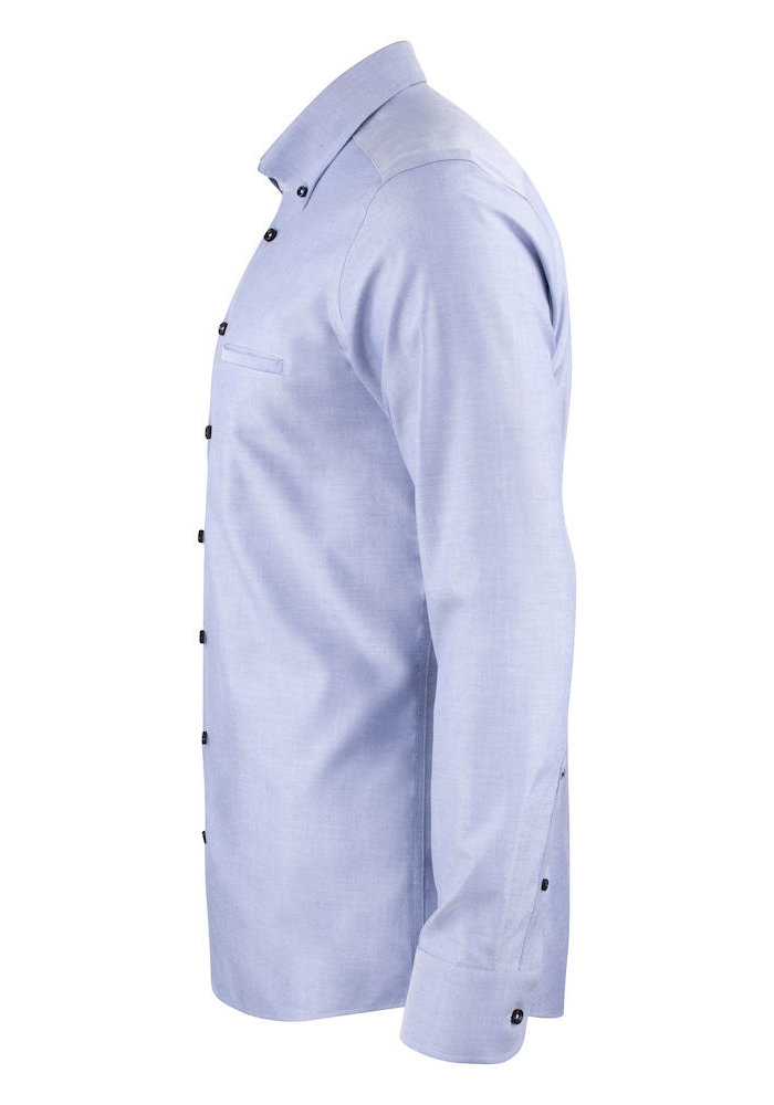 Red Bow 121 Regular Fit Overhemd Blauw/Paars