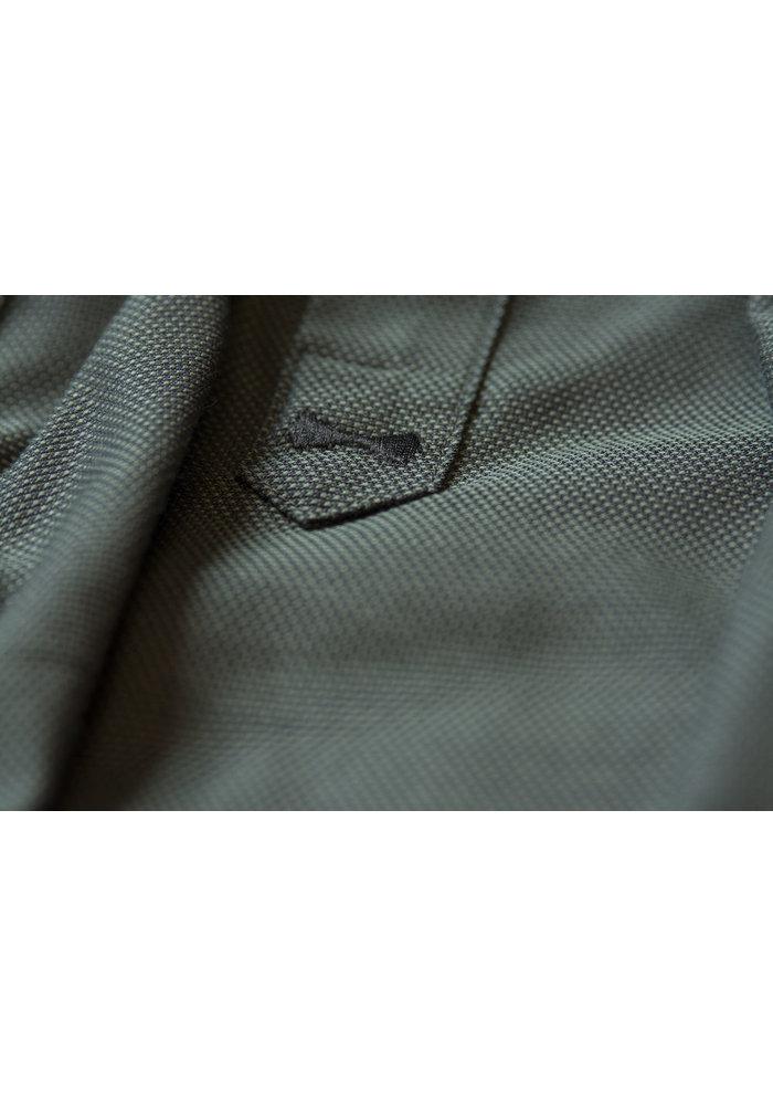 Purple Bow 142 Slim Fit Overhemd Olijfgroen