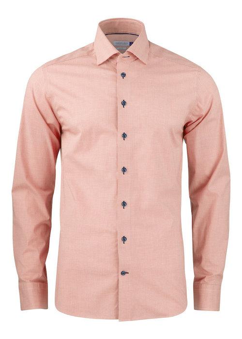 J. Harvest & Frost Purple Bow 141 Regular Fit Overhemd Oranje