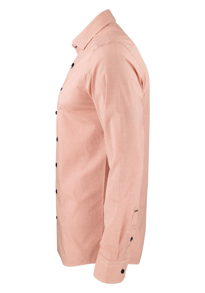 Purple Bow 141 Regular Fit Overhemd Oranje