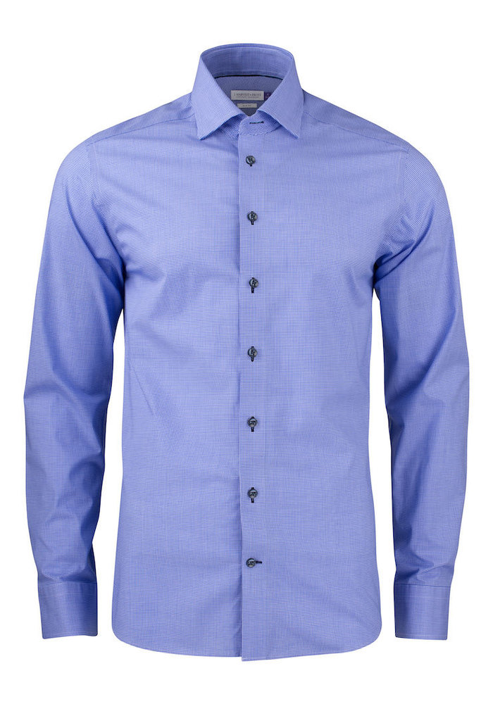 Purple Bow 141 Regular Fit Overhemd Navy