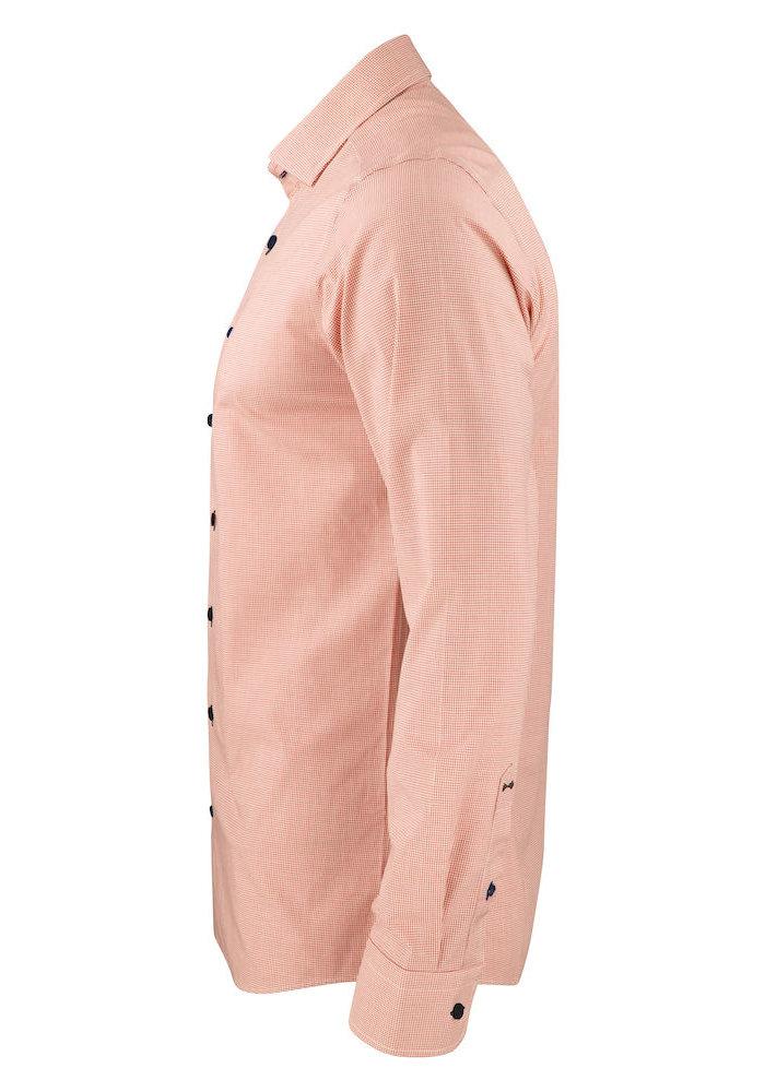 Purple Bow 141 Slim Fit Overhemd Oranje