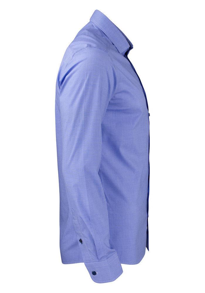 Purple Bow 141 Slim Fit Overhemd Navy