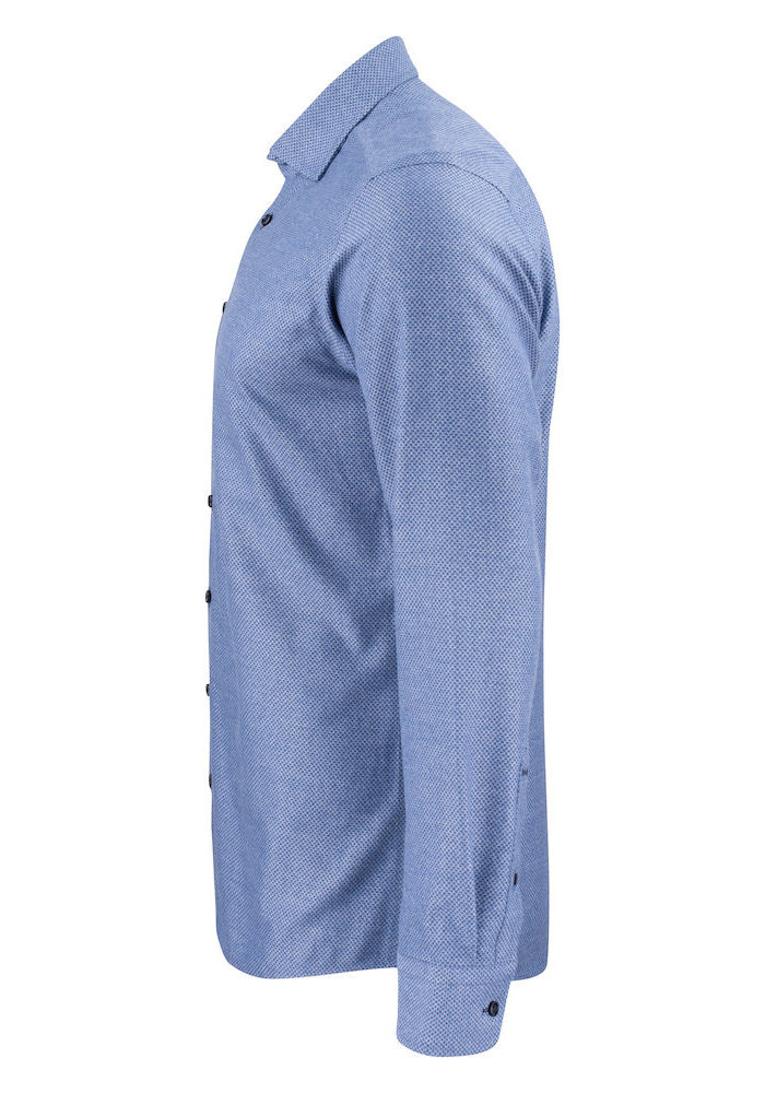 Purple Bow 144 Regular Fit Overhemd Indigo
