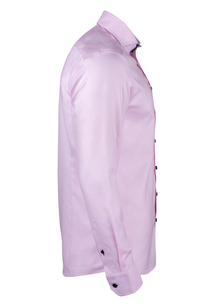 Purple Bow 145 Slim Fit Overhemd Roze