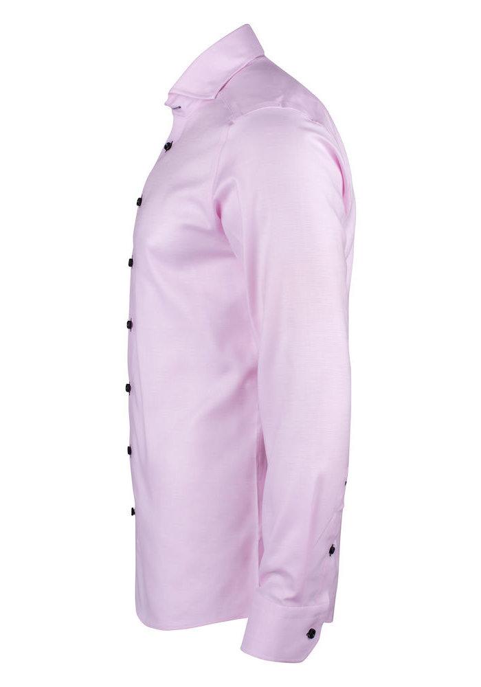 Purple Bow 145 Regular Fit Overhemd Roze
