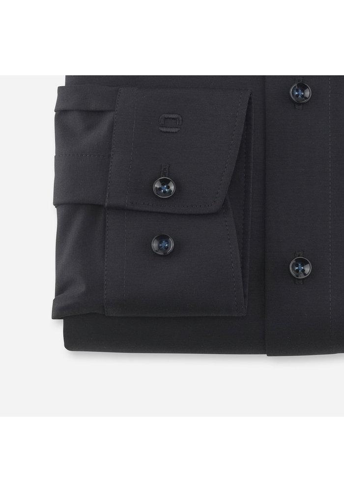 Olymp overhemd 24/Seven  Zwart