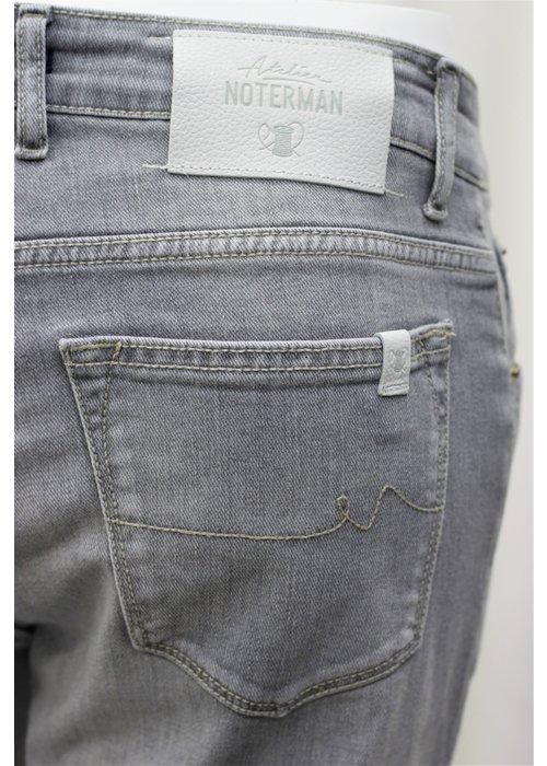 Atelier Noterman Atelier Noterman Donker Grijze Jeans
