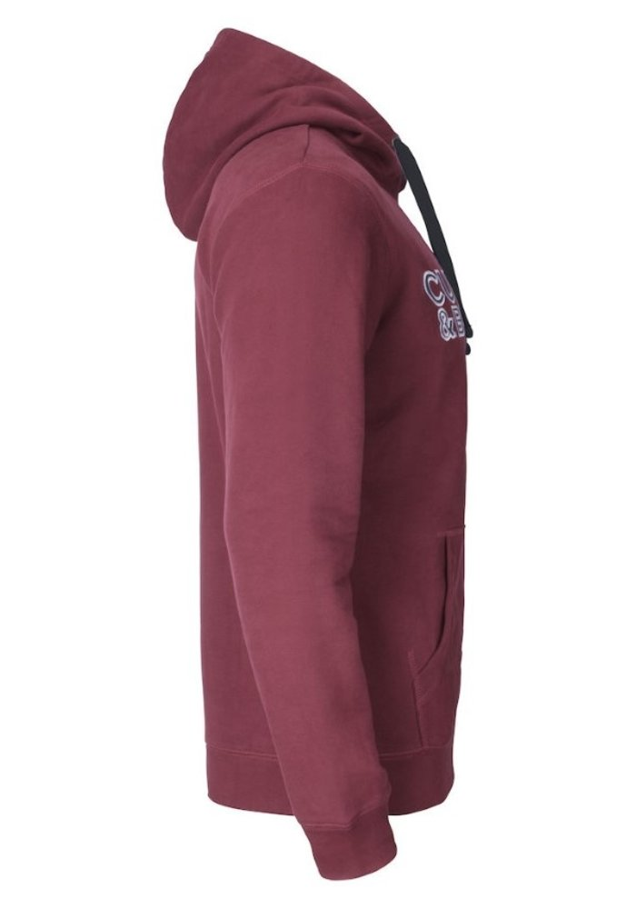 Twisp Heren Sweater Met Rits Rood