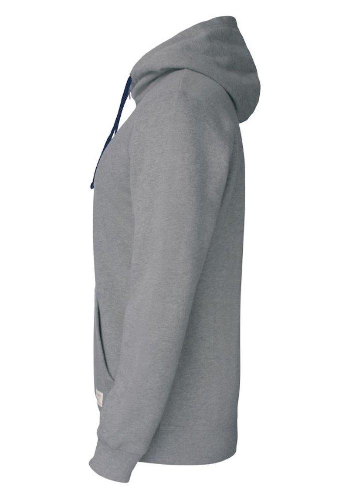 Twisp Heren Sweater Met Rits Grijs