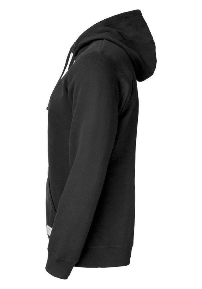 Twisp Heren Sweater Met Rits Zwart
