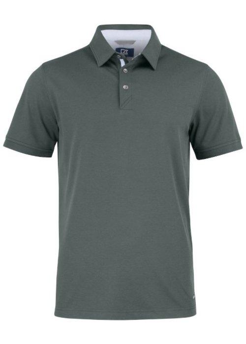 Cutter & Buck Advantage Premium  Heren Polo Grijs
