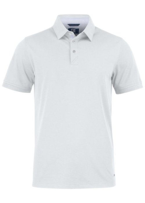 Cutter & Buck Advantage Premium  Heren Polo Wit