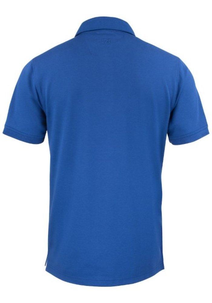 Advantage Premium  Heren Polo Blauw