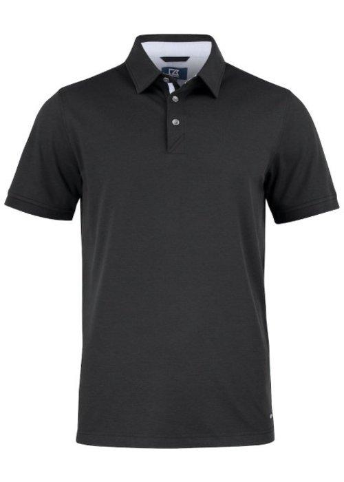 Cutter & Buck Advantage Premium  Heren Polo Zwart