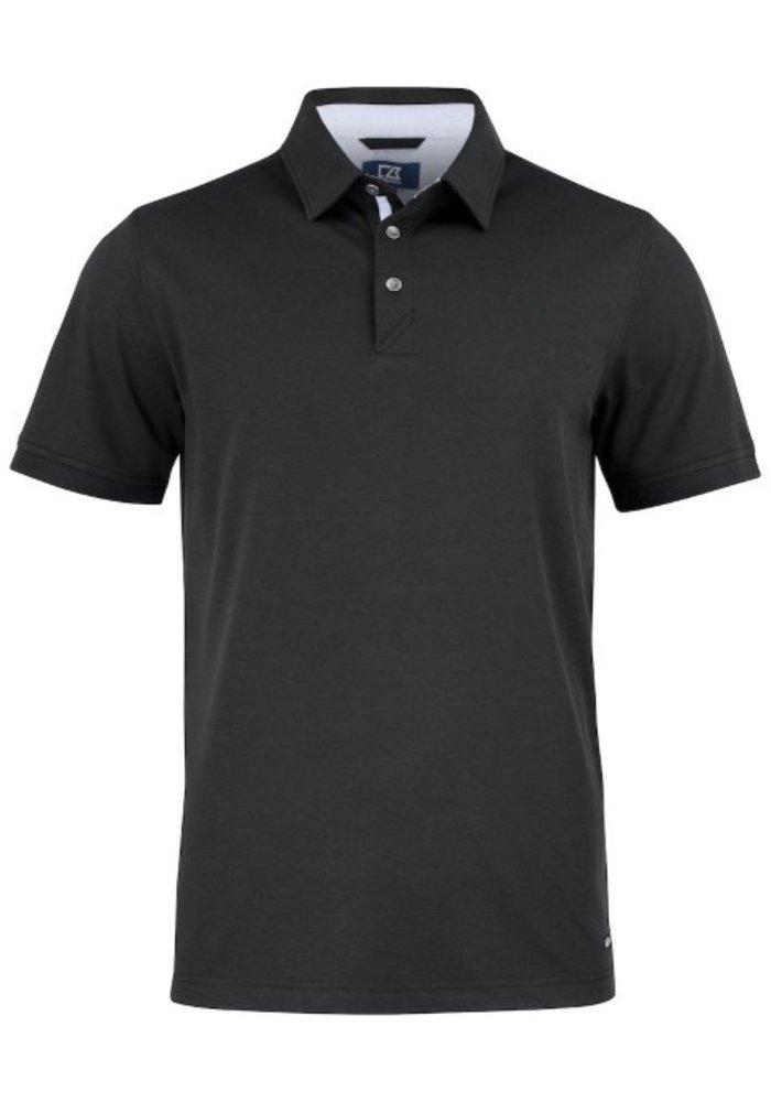 Advantage Premium  Heren Polo Zwart