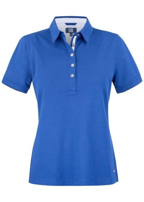 Cutter & Buck Advantage Premium Dames Polo Blauw