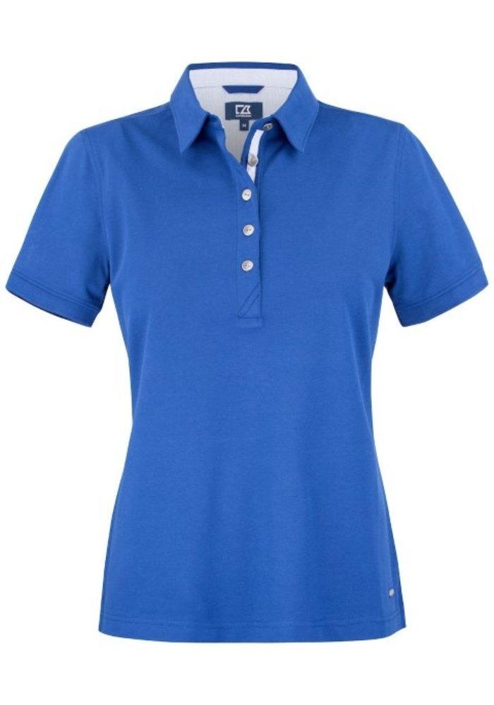 Advantage Premium  Dames Polo Blauw