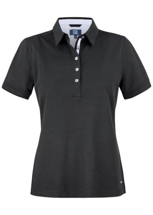 Cutter & Buck Advantage Premium  Dames Polo Zwart