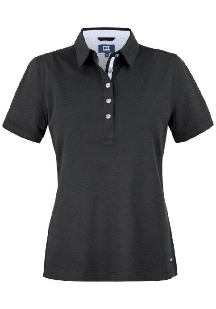 Advantage Premium  Dames Polo Zwart