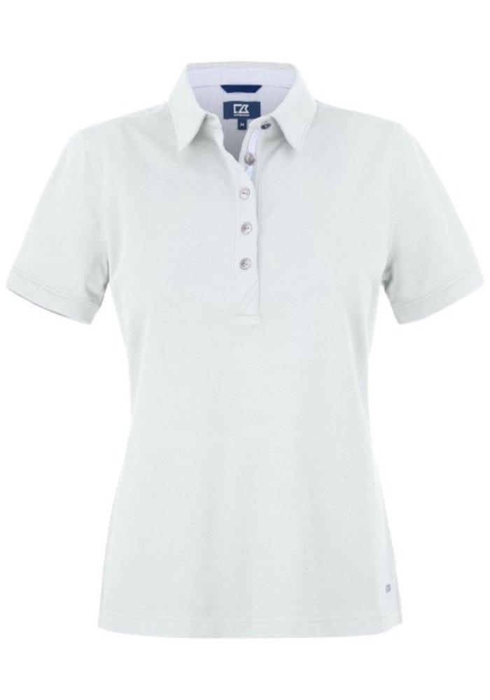 Advantage Premium  Dames Polo Wit