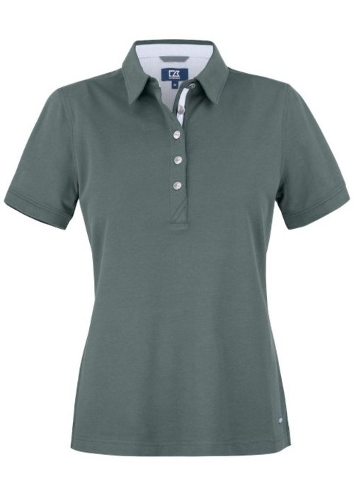 Cutter & Buck Advantage Premium  Dames Polo Grijs