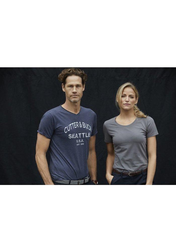 Pacific City Heren Wit T-shirt Met Opdruk