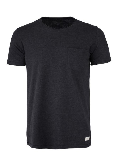 Cutter & Buck Pacific City Heren Antraciet T-shirt Zonder Opdruk